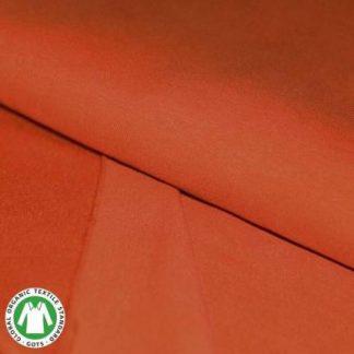 coloris French terry coton bio