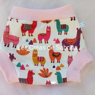 shorty imperméable lama