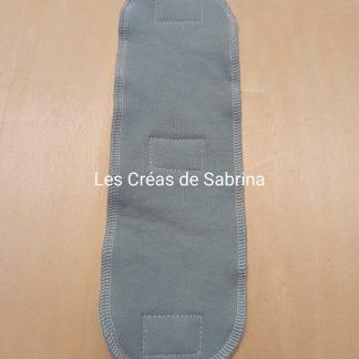 insert serviette hygiénique lavable coton bio